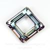 4439 Подвеска Сваровски Square Ring Crystal Vitrail Light  (20 мм)