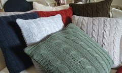 Элитная подушка декоративная Boston светло-коричневая от Casual Avenue