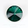 1122 Rivoli Ювелирные стразы Сваровски Emerald (12 мм) ()