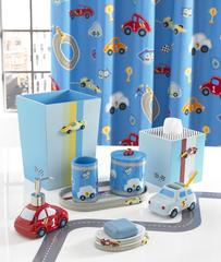 Элитная шторка для ванной детская Race Track от Kassatex