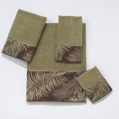 Полотенце 41х76 Avanti Tropical Leaves зеленое