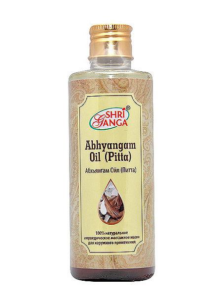 Shri Ganga Абхьянгам Ойл (Питта) / Abhyangam Oil (Pitta) 200 мл.