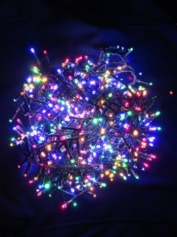 Светодиодная гирлянда Triumph Tree 800 ламп, мультиколор