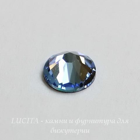 2058 Стразы Сваровски холодной фиксации Light Sapphire ss12 (3,0-3,2 мм), 12 штук ()