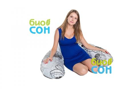 Подушка для беременных и кормящих мам+Наволочка «БиоСон» С 170х30