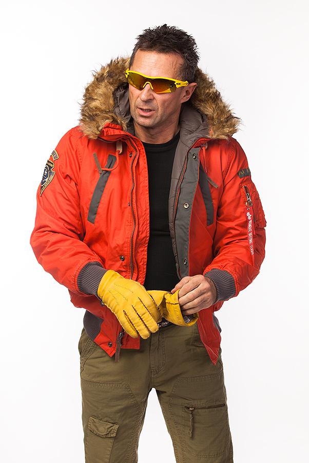 Куртка - пилот зимняя - Mountain Jacket (18 red)