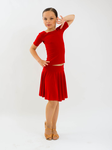 Детская юбка солнце для танцев, арт. 1017