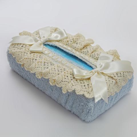 Салфетница для бумажных полотенец Rombetti голубая от Old Florence