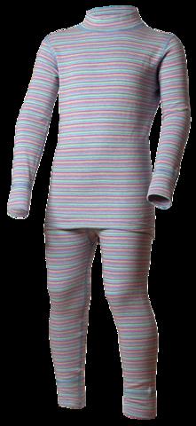 Комплект термобелья Norveg Winter детский розовая полоска