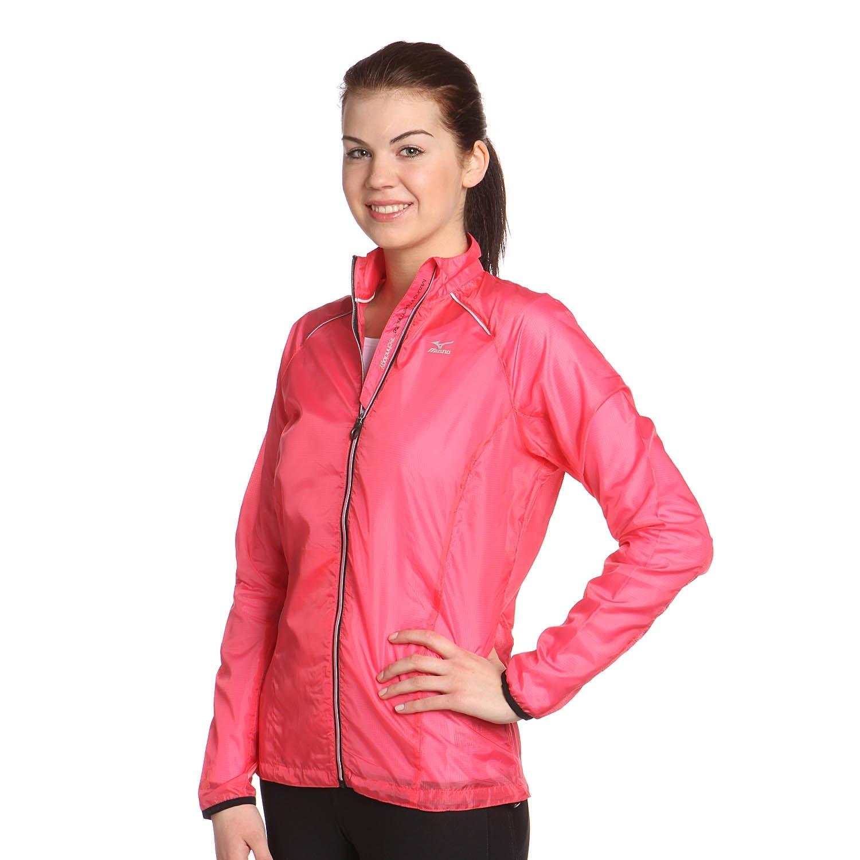 Женская ветровка Mizuno Impermalite Jacket W' (77WS320 64) розовая