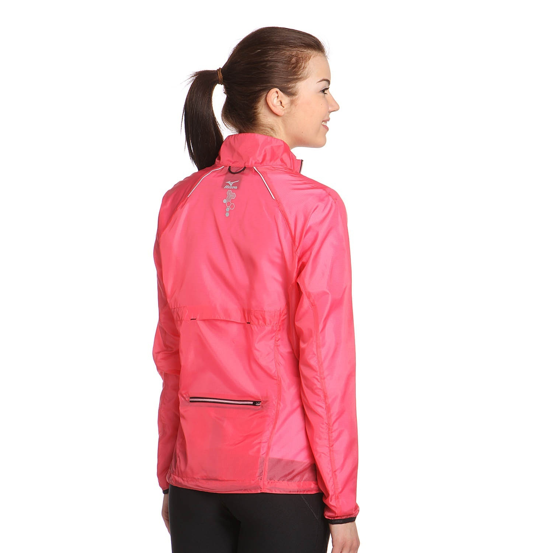 Женская ветровка Mizuno Impermalite Jacket W' (77WS320 64) розовая фото