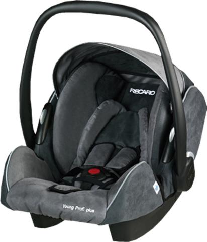 Детское кресло RECARO Young Profi plus (материал верха Trendline Bellini Asphalt/Grey)