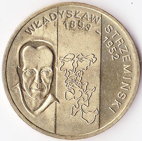 Польша 2 злотых 2009 Стржеминский