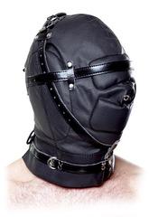 Глухой БДСМ шлем Full-Contact Hood