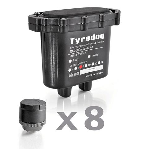 Датчики давления в шинах (TPMS) Carax CRX-1012/8+10 с 18-ю датчиками