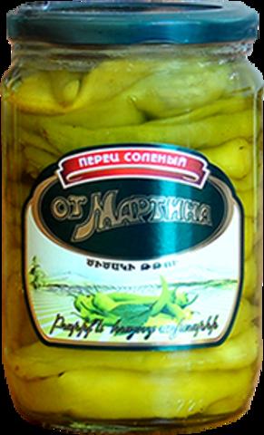 Перец соленый Мартин, 630г
