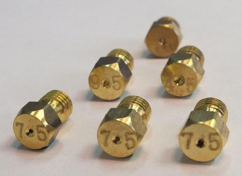 Универсальный комплект жиклеров для газовых плит (с грилем)