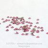 2058 Стразы Сваровски холодной фиксации Rose ss 5 (1,8-1,9 мм), 20 штук ()