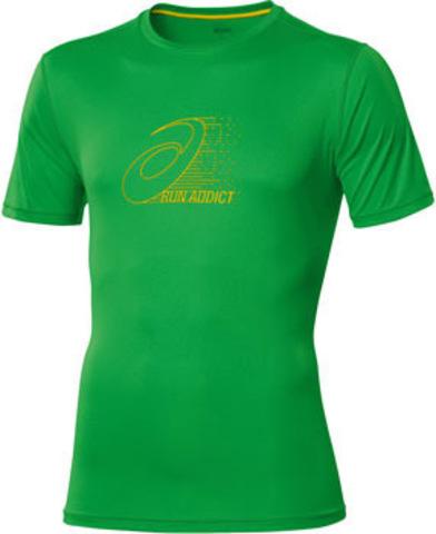 Футболка беговая мужская Asics Graphic Top green