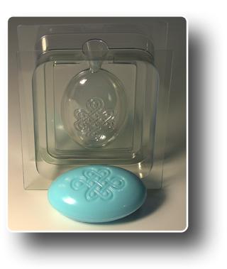 Узел долголетия форма для мыла 3D (сторона A)