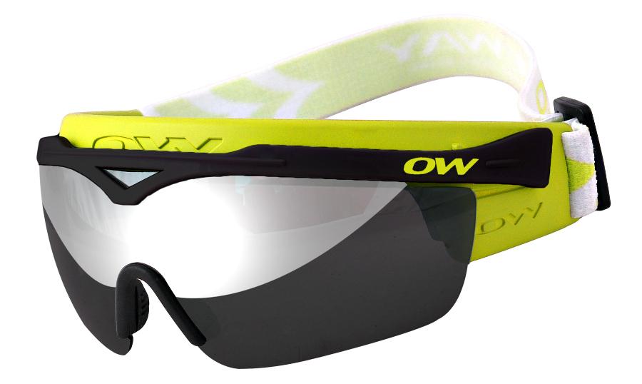 Очки-маска лыжные OneWay XC-Optic Snow Bird II yellow
