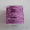 Нейлоновый шнур 1 мм (цвет - сиреневый) 35 м ()