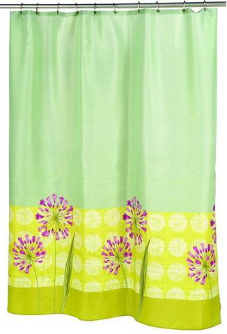 Элитная шторка для ванной Serenity от Carnation Home Fashions