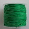 Нейлоновый шнур 1 мм (цвет - зеленый) 35 м ()