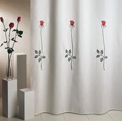 Шторка для ванной 180x200 Arti-Deco Rosas C. Red