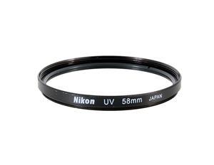 Светофильтр Nikon UV 62mm (Ультрафиолетовый защитный УФ фильтр для фотоаппаратов и объективов Никон с диаметром резьбы 62 мм)