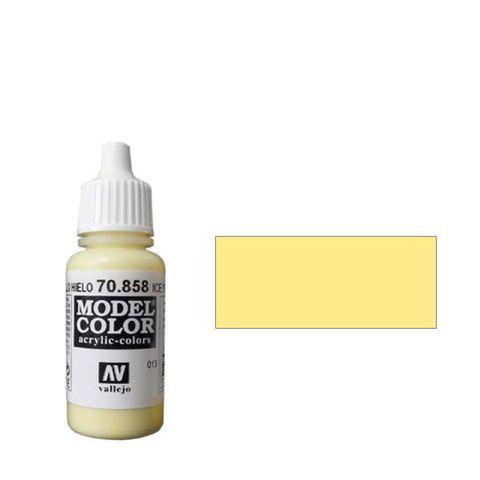 013. Краска Model Color Желтый Холодный 858 (Ice Yellow) укрывистый, 17мл