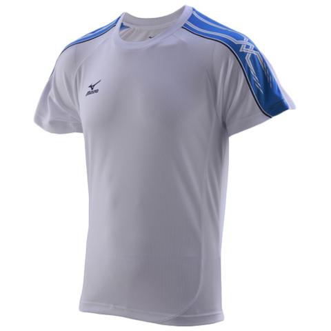 Mizuno Team Running Tee футболка для бега мужская grey