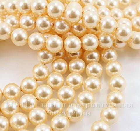 5810 Хрустальный жемчуг Сваровски Crystal Light Gold круглый 6 мм, 5 шт ()
