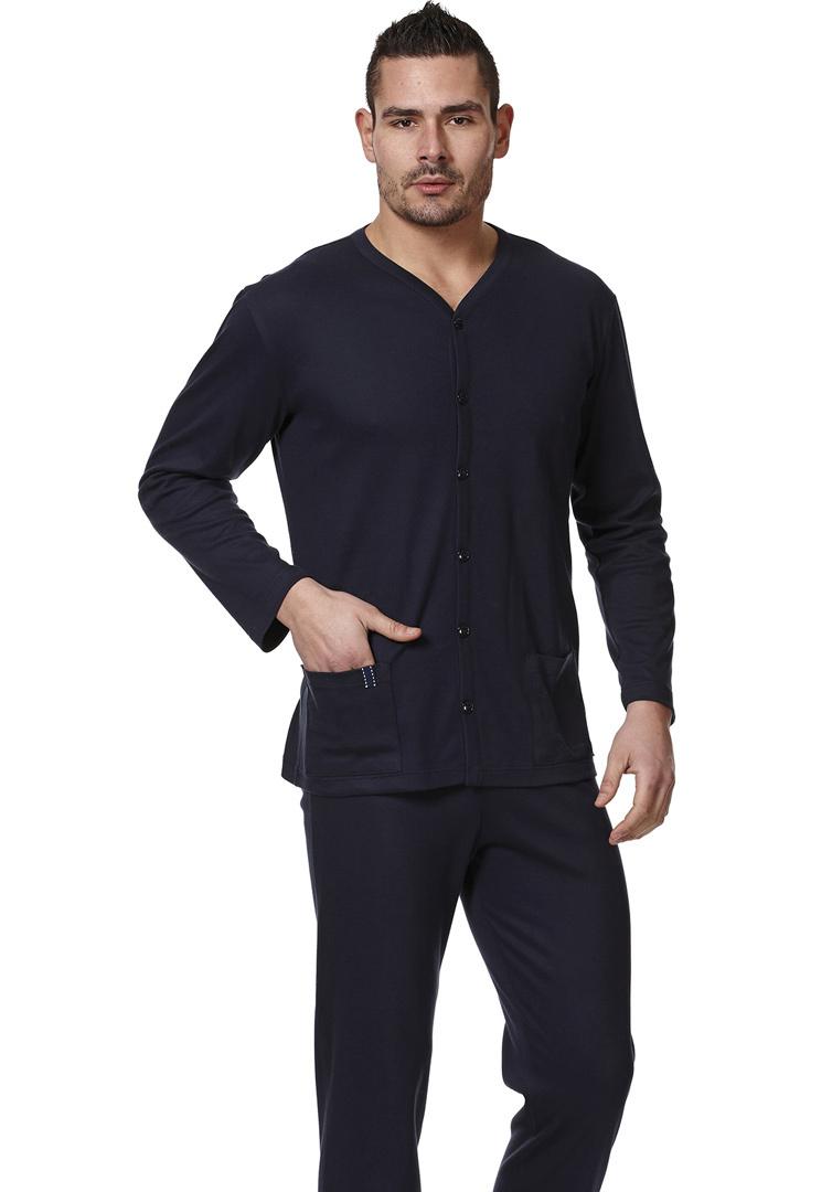 Мужской домашний костюм на пуговицах Vilfram (Домашние костюмы и пижамы)