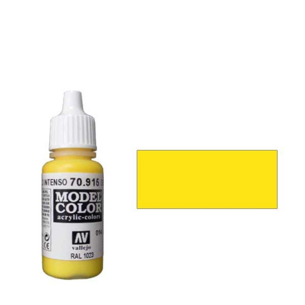 014. Краска Model Color Желтый Темный 915 (Deep Yellow) укрывистый, 17мл