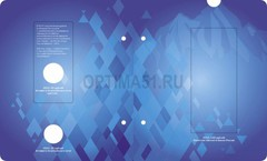 Разворот 5 Альбом для монет «Памятные монеты РФ посвящённые XXII Зимним Олимпийским Играм и XI Паралимпийским Зимним Играм 2014 года в Сочи» в футляре