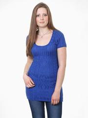 Ж1536-1 джемпер женский синий