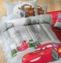 Детское постельное белье Caleffi Cars Due серое