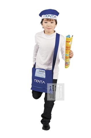 Фото Почтальон рисунок Детские костюмы по профессиям для детского сада помогут примерить роль полицейского, повара, врача, парикмахера и др. проще и веселее!