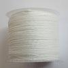 Нейлоновый шнур 1 мм (цвет - белый)  35 м
