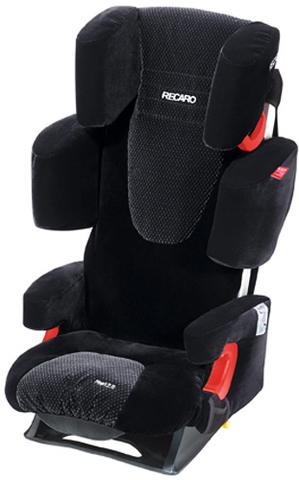 Детское кресло RECARO Start 2.0 (материал верха Topline Microfibre Black/Aquavit)