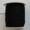 Нейлоновый шнур 0,8 мм (цвет - черный) 120 м ()