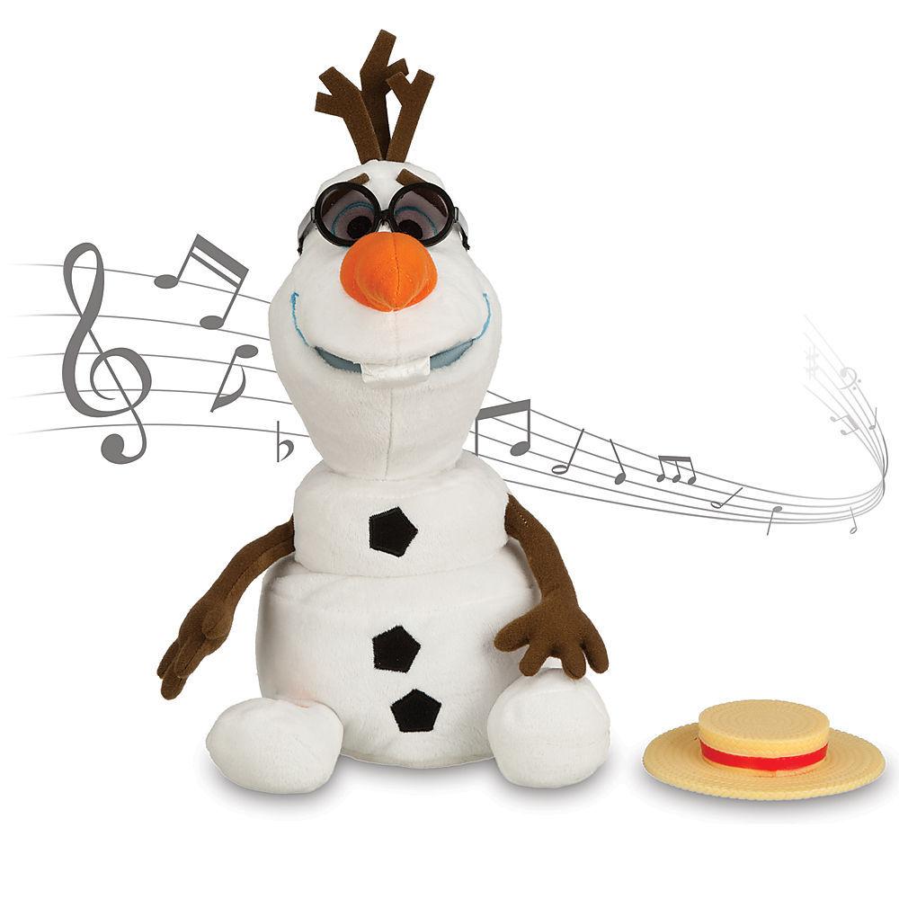 Куклы Холодное сердце Поющий Снеговик Олаф Холодное сердце мягкая игрушка 27 см 6071055770949.jpg