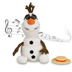 Поющий Снеговик Олаф Холодное сердце мягкая игрушка 27 см