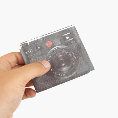 Бумажный кошелек в виде фотика