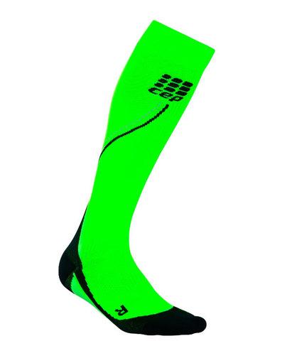 Гольфы CEP женские ярко-зеленые