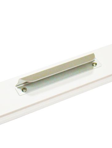 Ручка алюминий серебро