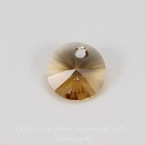 6428 Подвеска - Rivoli  Сваровски Light Colorado Topaz (8 мм) ()