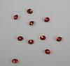 Стразы ювелирные (цвет - красный) 3,6 мм, 10 шт ()