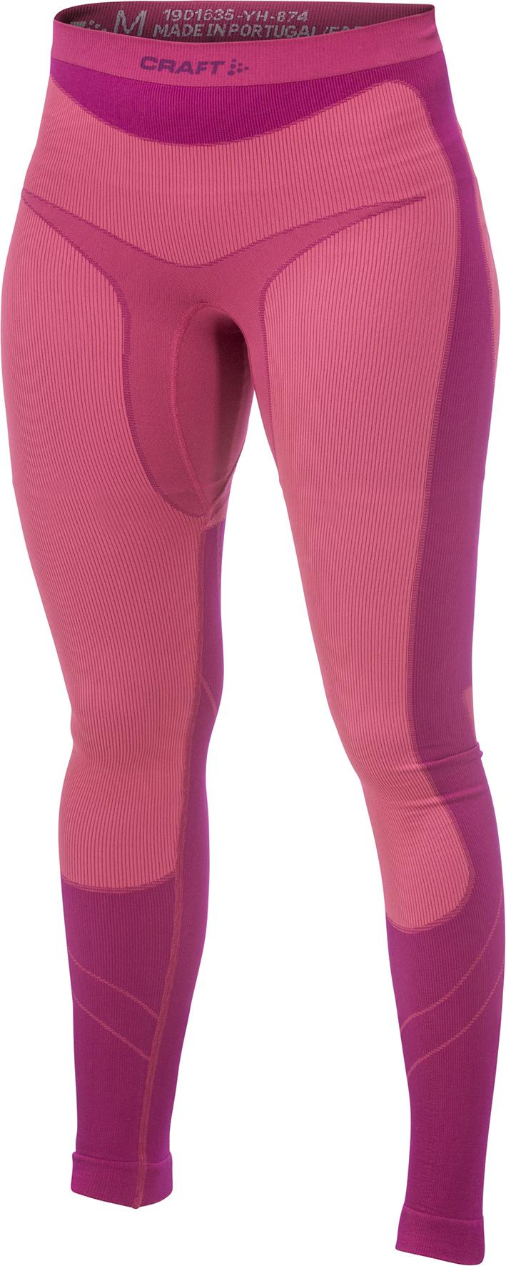 Женское термобелье рейтузы Craft Warm Pink (1901635-2465)
